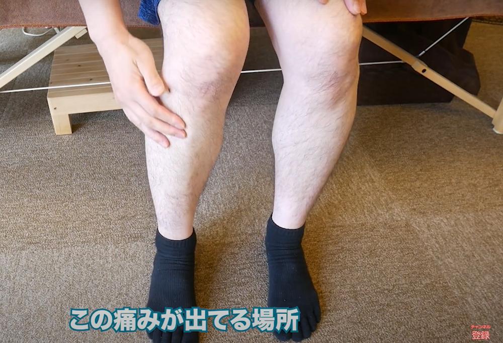 前脛骨筋 総指伸筋